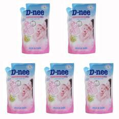 Bán Bộ 05 Tui Nước Rửa Binh Sữa Va Rau Củ Quả Dnee X 600Ml Có Thương Hiệu Rẻ