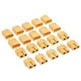 Bộ 10 Cặp Đầu Cắm Jack Rắc Giắc Xt60 Đực Va Cai Luan Air Models Oem Chiết Khấu 40