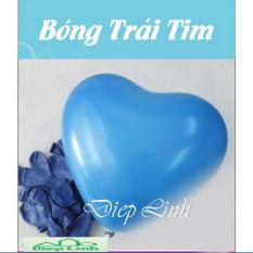Hình ảnh 100 bóng trái tim hàng Thái Lan loại 1 màu và nhiều màu (loại nhỏ 6 inch)- Diệp Linh