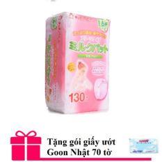 Giá Bán Bộ 130 Tấm Lot Thấm Sữa Chuchu Baby Tặng Goi Giấy Ướt Goon Nhật 70 Tờ Nguyên