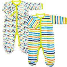 Bán Bộ 2 Ao Liền Quần Kem Tất Be Trai Baby Gear Mau Sắc Ngẫu Nhien Rẻ Nhất