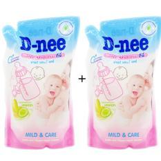 Bộ 2 Bịch Nước Rửa Binh Sữa Dnee 600Ml Rẻ