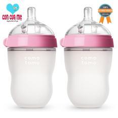 Bán Bộ 2 Binh Sữa Comotomo 250Ml Hồng Rẻ Hà Nội