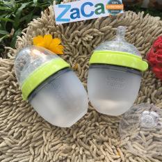 Bộ 2 Binh Sữa Comotomo Silicone 150Ml Xanh Trong Hồ Chí Minh