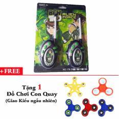 Hình ảnh Bộ 2 Bộ Đàm Ben Cho Bé 178-13 + Tặng 1 đồ chơi con quay
