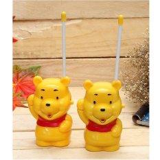 Hình ảnh Bộ 2 bộ đàm gấu Pooh hoạt hình cho bé