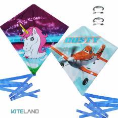 Hình ảnh Bộ 2 Diều Trẻ Em - Máy Bay và Ngựa Pony