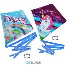 Hình ảnh Bộ 2 Diều Trẻ Em - Ngựa Pony và Princess