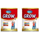 Bộ 2 Họp Sữa Bột Vinamilk Dielac Grow 2 900G Mới Nhất