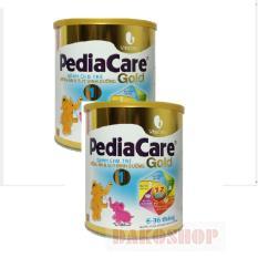 Mua Bộ 2 Hộp Sữa Pediacare Gold 1 900 Gam Vang Trắng Eneright Nutrition Rẻ