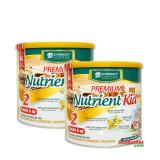 Bán Bộ 2 Hộp Sữa Premium Nutrient Kid Số 2 700G Premium Có Thương Hiệu