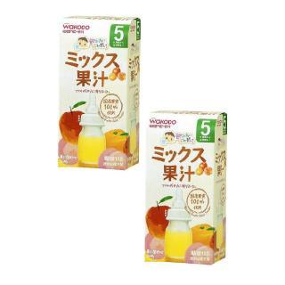 Bộ 2 hộp trà Wakodo vị hoa quả tổng hợp cho bé từ 5 tháng tuổi thumbnail