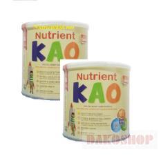 Ôn Tập Trên Bộ 2 Lon Sữa Nutrient Kao 700 Gam