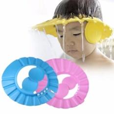 Bộ 2 Mũ tắm cho bé có vành che tai GocgiadinhVN