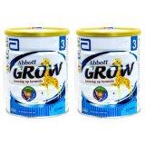 Giá Bán Bộ 2 Sữa Bột Abbott Grow Growing Up Formula 3 900G Mới Rẻ