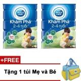 Bộ 2 Sữa Bột Dutch Lady Kham Pha 900G Tặng 1 Tui Mẹ Va Be Hồ Chí Minh