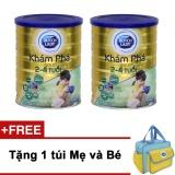 Giá Bán Bộ 2 Sữa Bột Dutch Lady Kham Pha Gold 900G Tặng 1 Tui Mẹ Va Be Mới