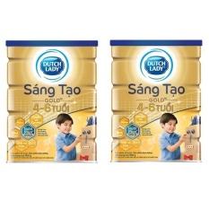 Giá Bán Bộ 2 Sữa Bột Dutch Lady Sang Tạo Gold 900G Trực Tuyến Bắc Ninh