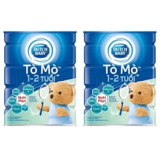 Bán Bộ 2 Sữa Bột Dutch Lady To Mo 900G Trong Hồ Chí Minh