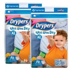 Tã dán Drypers Wee Wee Dry Size XL (12-17kg)