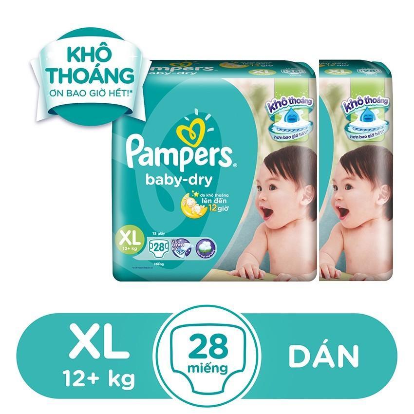 Giá Bán Bộ 2 Ta Dan Pampers Tiết Kiệm Xl28 Pampers