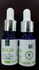Bộ 2 Tinh Dầu Chống Muỗi ENJA (Dạng Thoa) 10ml - An Toàn Cho Mẹ và Bé