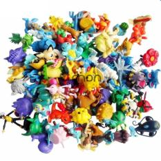 Hình ảnh Bộ 24 tượng thú Pokemon GO cao 2-3cm (Be)