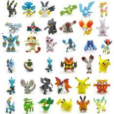 Hình ảnh Bộ 24 tượng thú C'MON TOYS Pokemon GO cao 2-3cm (Be)