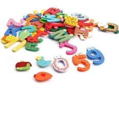 Hình ảnh Bộ 26 chữ, 10số+ 5 dấu+12 sinh vật biển nam châm cho bé vui học
