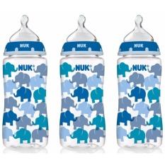 Mua Bộ 3 Binh Sữa Nuk Cổ Rộng Hinh Voi Xanh 300Ml Cho Be Hồ Chí Minh
