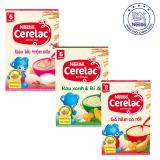 Chiết Khấu Bộ 3 Bột Ăn Dặm Nestle Cerelac Gạo Lức Rau Xanh Ga Hầm Ca Rốt Cerelac Trong Hồ Chí Minh