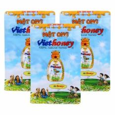 Bộ 3 Gói Mật Ong Viethoney (40 Túi X 5g) By Viethoney
