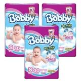 Giá Bán Rẻ Nhất Bộ 3 Goi Ta Giấy Bobby Fresh Sieu Mỏng S30