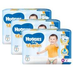 Mã Khuyến Mại Bộ 3 Goi Ta Quần Huggies Dry Xl32 Huggies Mới Nhất