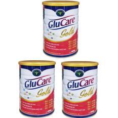 Giá Bán Bộ 3 Hộp Sữa Glucare Gold 900Gr Bổ Sung Dinh Dưỡng Cho Người Tiểu Đường Có Thương Hiệu