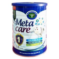 Giá Bán Bộ 3 Hộp Sữa Meta Care 1 900G