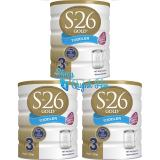 Bán Bộ 3 Hộp Sữa S26 Uc Số 3 Cho Trẻ 1 3 Tuổi 900G Hsd 11 2018 Rẻ