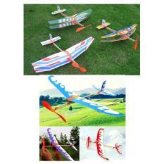 Hình ảnh Bộ 6 máy bay (2 kiểu), tự lắp ráp, bay bằng dây thun (dây chun), thân gỗ, loại cao cấp (màu sắc ngẫu nhiên)