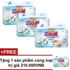 Ôn Tập Bộ 3 Ta Dan Goon Renew Slim Jumbo M38 7 12Kg Tặng 1 Sản Phẩm Cung Loại Trị Gia 210 000Vnd Goo N