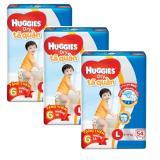 Bán Bộ 3 Ta Quần Huggies Dry Pants L54 9 14Kg Tặng 6 Miếng Goi Huggies Rẻ