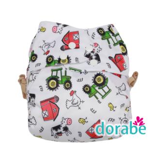 Bộ 3 tã vải Dorabe ban ngày cho bé từ 3-16kg thumbnail