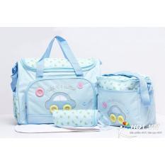 Bộ 3 túi xách tiện lợi cho mẹ bỉm sữa và bé (họa tiết ô tô cực đẹp) - Navashop