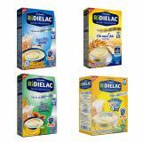 Bán Bộ 4 Hộp Bột Ăn Dặm Vinamilk Ridielac Gạo Sữa Yến Mạch Sữa Gạo Trai Cay Bốn Goi 3 Vị Ngọt 200G Hộp Giấy Nguyên