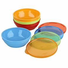 Mã Khuyến Mại Bộ 4 To Nhựa Co Nắp Đậy Gerber Bunch A Bowls Cho Be Từ 4 Thang Gerber Mới Nhất