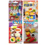 Bộ 4 Vỉ Tẩy Hinh Thức Ăn Eraser Food Sets Anh Shop Chiết Khấu Hồ Chí Minh