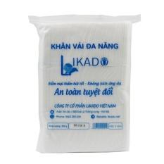 Bán Bộ 5 Bịch Khăn Vải Kho Đa Năng Likado 300G An Toan Cho Trẻ Nhỏ Likado Rẻ
