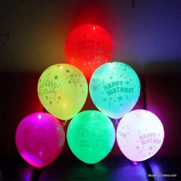 Bộ 10 Bóng bay đèn led phát sáng nhiều màu KamiHome