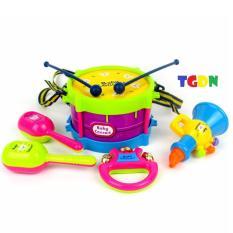 Hình ảnh Bộ 5 đồ chơi âm nhạc cho bé yêu