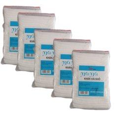 Bộ 5 túi khăn vải khô đa năng Mama 5 x 240 miếng