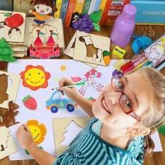 Hình ảnh Bộ 50 khuôn tập vẽ giúp bé sáng tạo